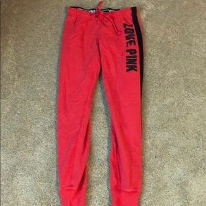 PINK Skinny Sweatpants